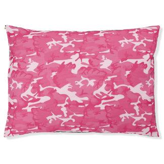 Cama Para Mascotas Camo rosado