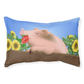 Cama Para Mascotas Cerdo en cacerola