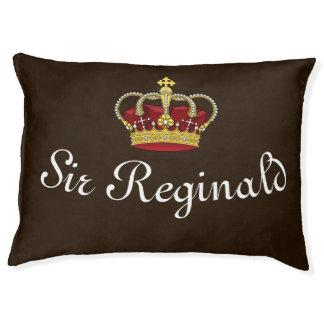 Cama Para Mascotas Dog Bed Brown oscuro de la corona de rey real