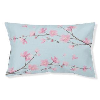 Cama Para Mascotas Flor de cerezo cuadrada - fondo transparente