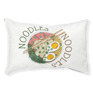 Cama Para Mascotas Restaurante japonés Foodie de la comida del cuenco