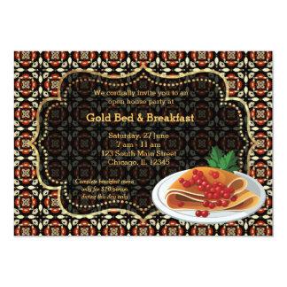 Cama y desayuno de la gran inauguración comunicado