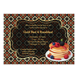 Cama y desayuno de la gran inauguración