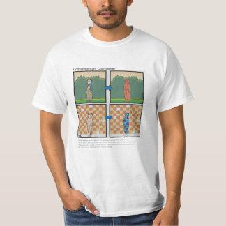 Camaleón complementario camiseta