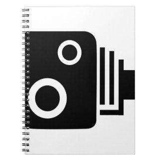 Cámara aislada de la velocidad cuaderno
