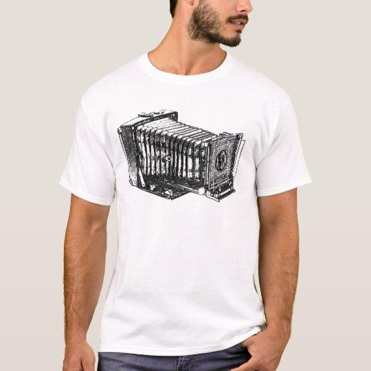 Cámara antigua del vintage camiseta