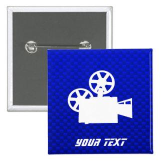 Cámara de película azul pins