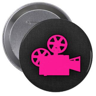 Cámara de película de las rosas fuertes pin