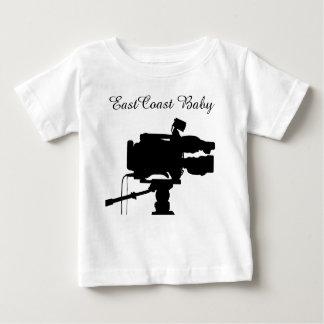 Cámara de película del cine de la película del camiseta de bebé
