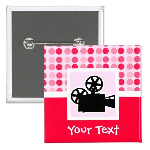 Cámara de película linda pin