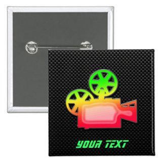 Cámara de película lisa pin