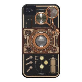 Cámara de Steampunk TLR del vintage (oscura) Carcasa Para iPhone 4