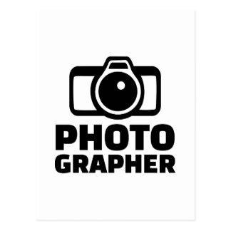 Cámara del fotógrafo postal