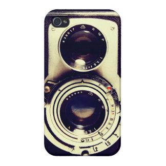 Cámara del vintage iPhone 4/4S carcasas