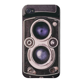 Cámara del vintage iPhone 4 funda