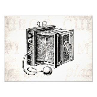 Cámara del vintage - negro antiguo de la fotografía