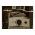Cámara del vintage - tarjeta de nota