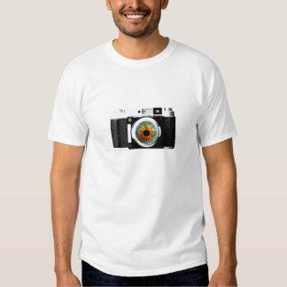 Cámara Fotos Camiseta