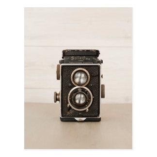 Cámara gemela de la lente de Rolleiflex del Tarjetas Postales