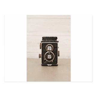 Cámara gemela de la lente de Rolleiflex del Postal