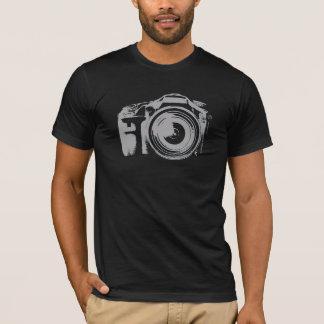 Cámara rápida del tiroteo camiseta