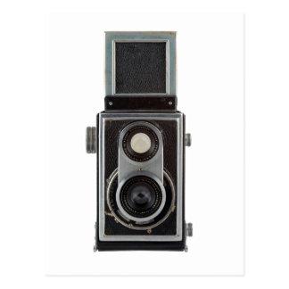 cámara vieja postal