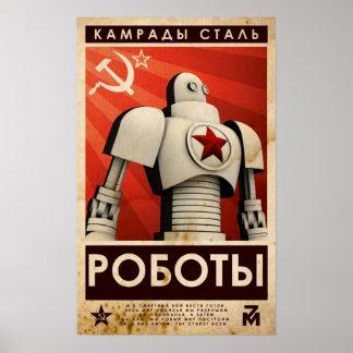 Camaradas del acero póster