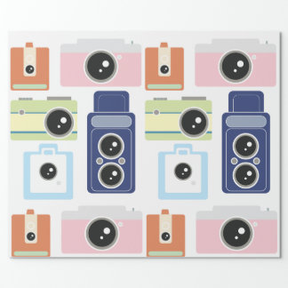 cámaras papel de regalo