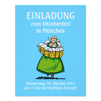 Camarera de la cerveza de Oktoberfest Munich de la Comunicados