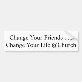 Cambie a su pegatina de los amigos