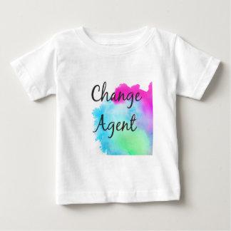 Cambie el agente camiseta de bebé
