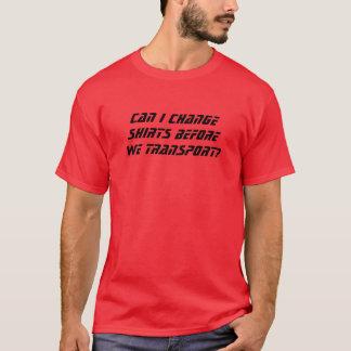 Cambie el camisetas