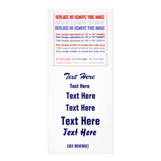Cambie la imagen o suprima la recarga del texto lonas