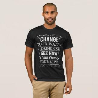 Cambie su agua camiseta
