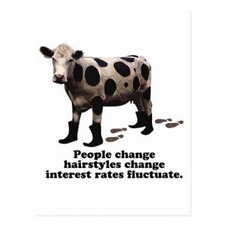 Cambio de la gente - vaca secretísima postal