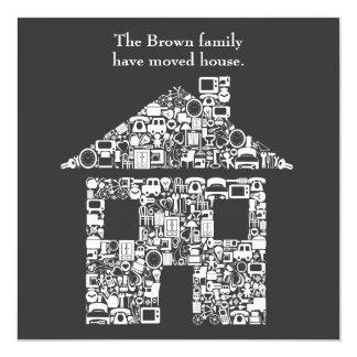 Cambio de la nueva invitación del hogar de la casa