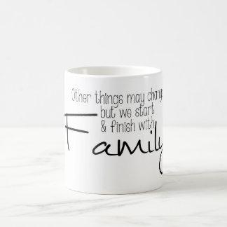 Cambio de las cosas pero TAZA de la familia