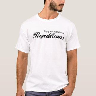 Cambio de los republicanos de la base camiseta