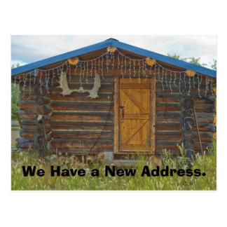 Cambio de tarjeta de la dirección: Cabina de la Postal