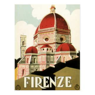 Cambio del vintage de catedral de Florencia Italia Postales