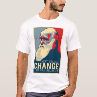Cambio muy gradual que podemos creer adentro camiseta