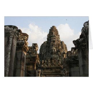 cambo de Angkor Thom Tarjeta De Felicitación