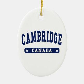 Cambridge Adorno De Cerámica