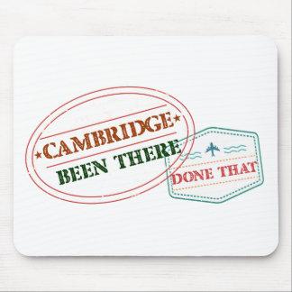 Cambridge allí hecho eso alfombrilla de ratón