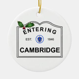 Cambridge mA Adorno De Cerámica