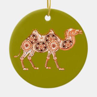 Camello Adorno De Cerámica