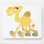 Camello fresco y lindo Mousepad del dibujo animado Tapete De Ratón