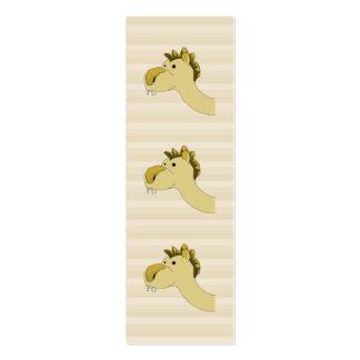 Camello lindo del dibujo animado tarjetas de visita mini
