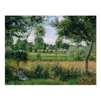 Camille Pissarro - efecto de la luz del sol de la Postal