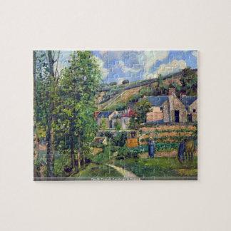 Camille Pissarro - paisaje en el rompecabezas de P